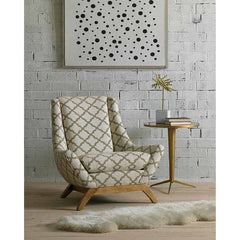 Precedent Furniture Jasper Chair in Room DwellStudio Jensen Chair