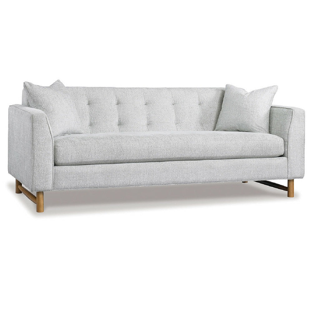 Precedent Furniture Keaton Apartment Sofa Love Seat Light Grey