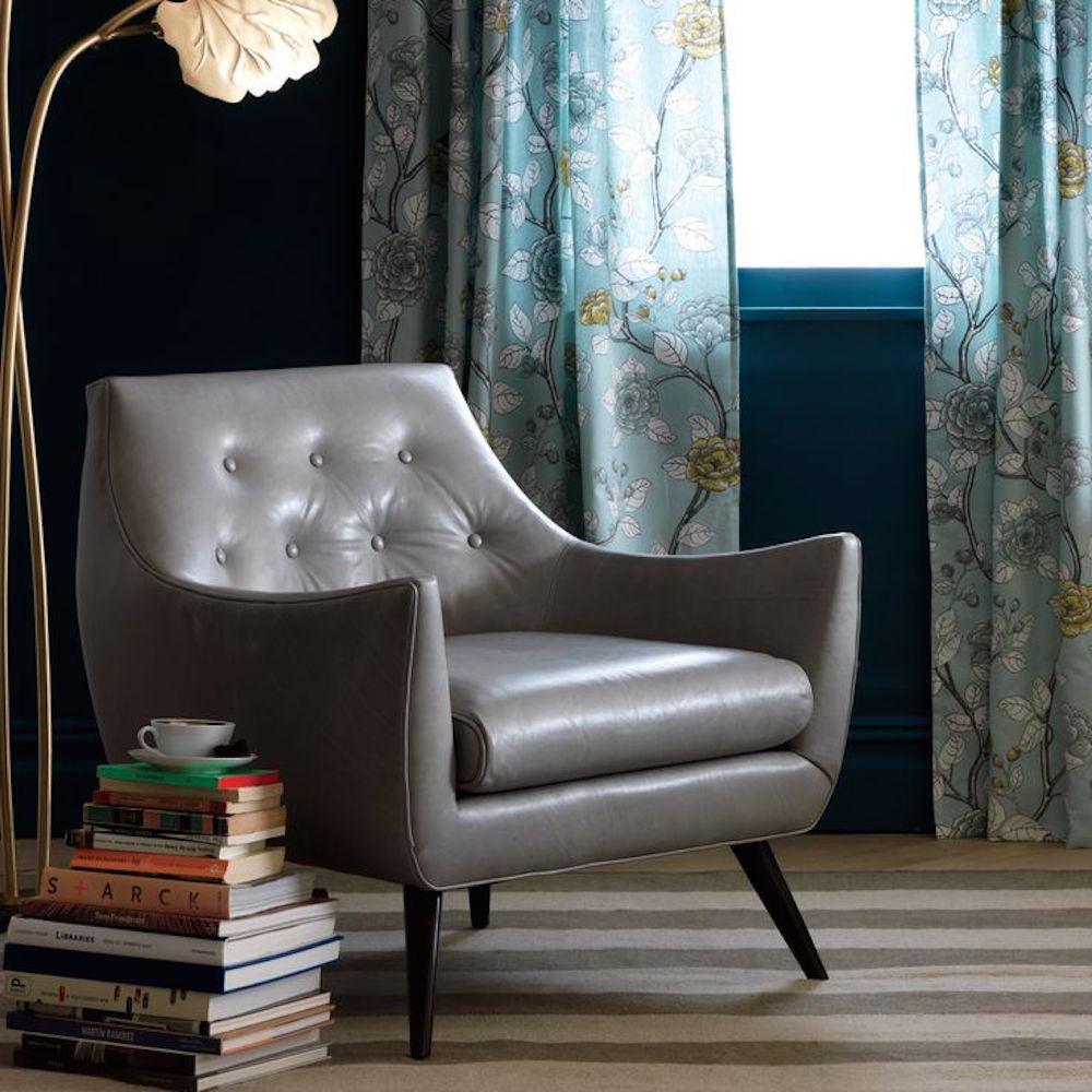 Charmant Precedent Furniture Marley Chair Grey Leather In Room