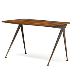 Prouve Desk Compas Direction Walnut Top Coffee Brown Base