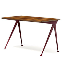 Prouve Desk Compas Direction Walnut Top Japanese Red Base