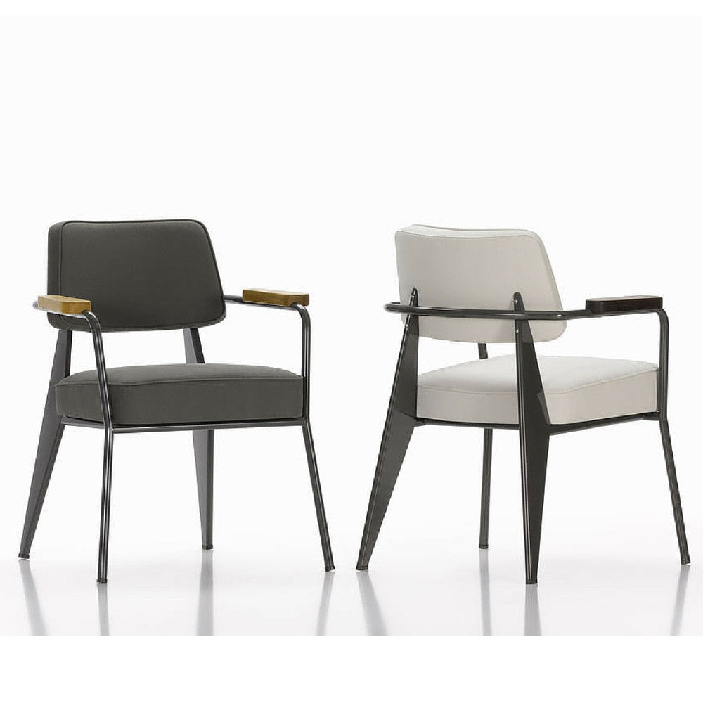 prouv fauteuil direction chair vitra palette. Black Bedroom Furniture Sets. Home Design Ideas