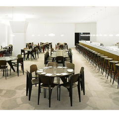 Prouve Gueridon Tables in French Office Cafel Vitra