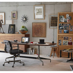 Prouve Tabouret Solvay Stool in Home Office Vitra