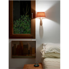 Ray Power Air A Wall Sconce Natural Cherry Bedside LZF Lamps