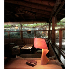 Ray Power Air Table Lamp Natural Cherry Living Room LZF Lamps