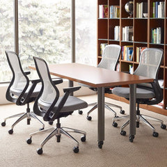 ReGeneration Office Chairs by Knoll Pebble Back Pebble Seats Office Setting Knoll Palette & Parlor