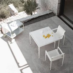Richard Schultz 1966 Dining Table White Square Outdoor Aerial View Knoll