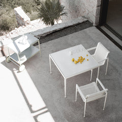 Richard Schultz 1966 Dining Armchairs Aerial View Knoll Outdoors