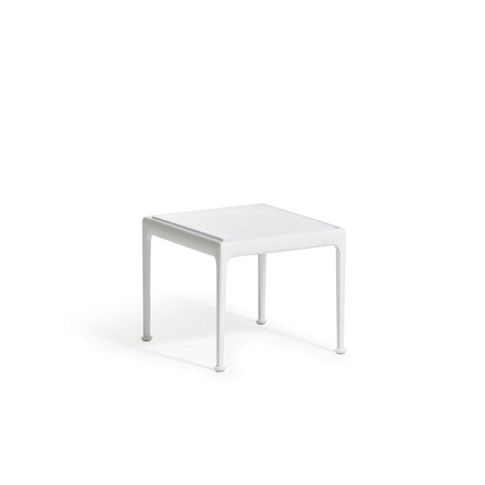 Richard Schultz 1966 Outdoor Square Side Table White Knoll