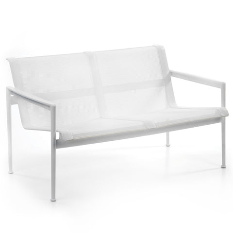 Richard Schultz 1966 Two Seat Lounge Chair with Arms