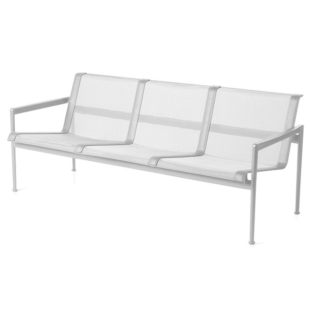 Richard Schultz 1966 Three Seat Lounge Chair with Arms