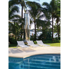 Richard Schultz 1966 Chaise Lounge Chairs by Pool in Tropical Locale Knoll Outdoors