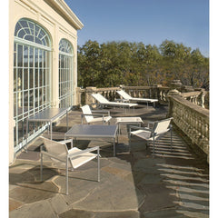 Richard Schultz 1966 Chaise Lounge Chairs on European Balcony Knoll Outdoors