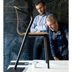 Ronan and Erwan Bouroullec with Belleville Chair