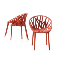 Ronan And Erwan Bourollec Vegetal Chair Brick Trio Vitra