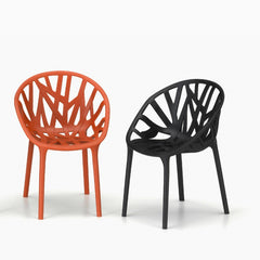 Ronan And Erwan Bourollec Vegetal Chair Brick And Black Vitra