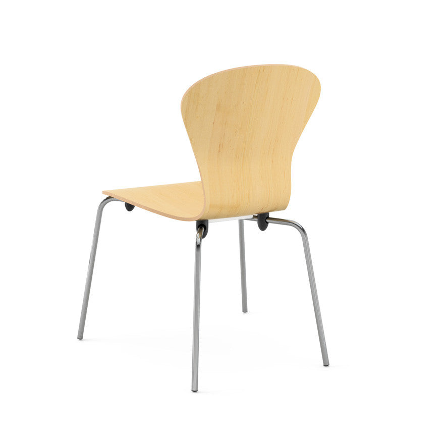 Ross Lovegrove Sprite Stacking Chair Maple Back Knoll