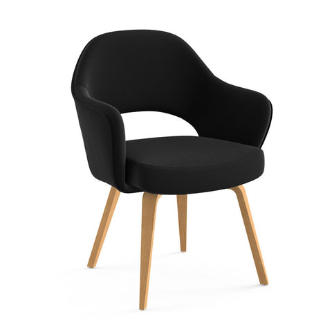 Saarinen Executive Arm Chair Wood Legs