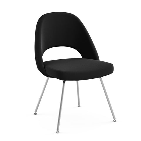 Saarinen Executive Armless Chair Tubular Legs