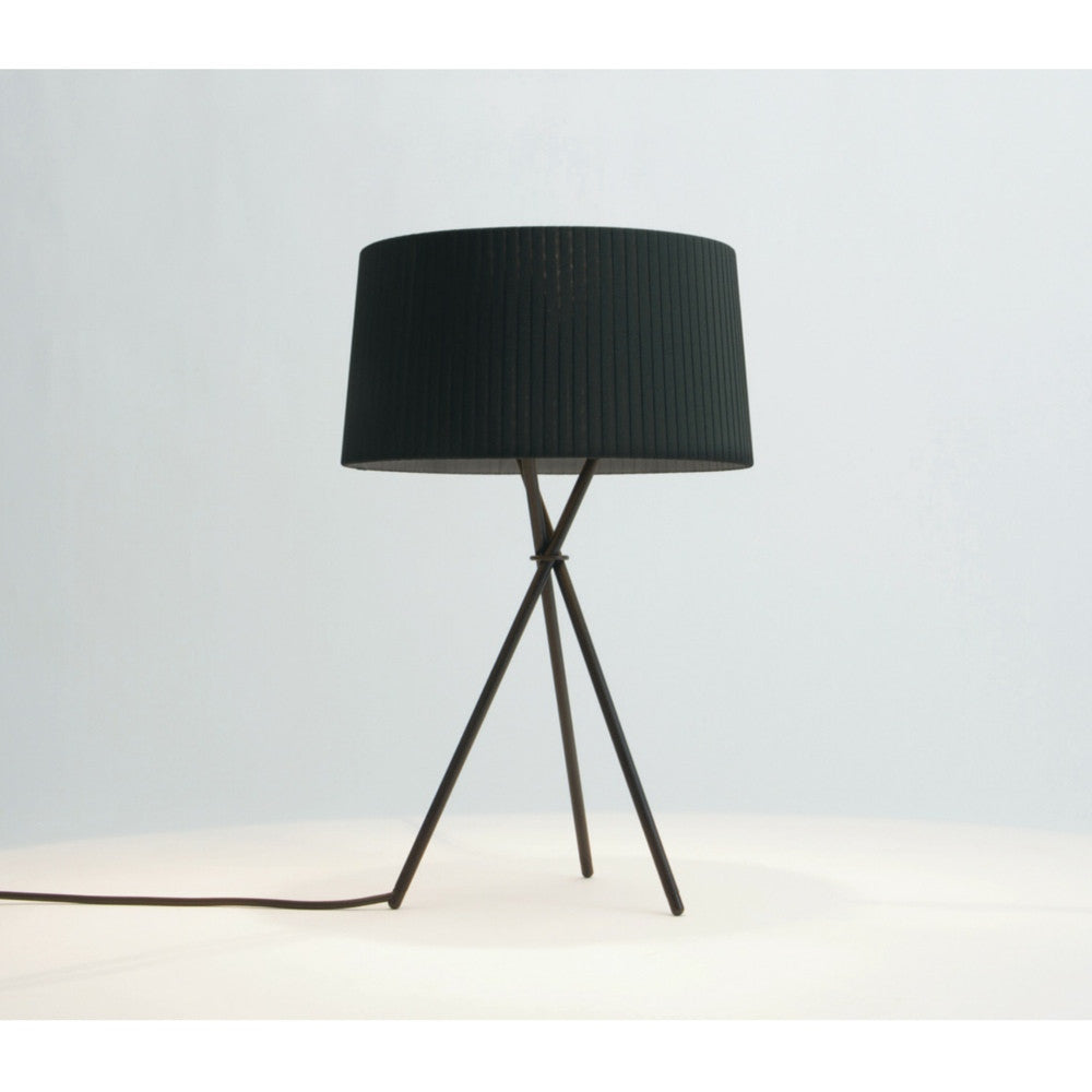Santa and Cole M3 Tripode Table Lamp Black