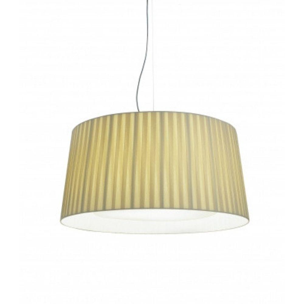 Santa Cole GT7 Suspension Light Natural Ribbon Shade
