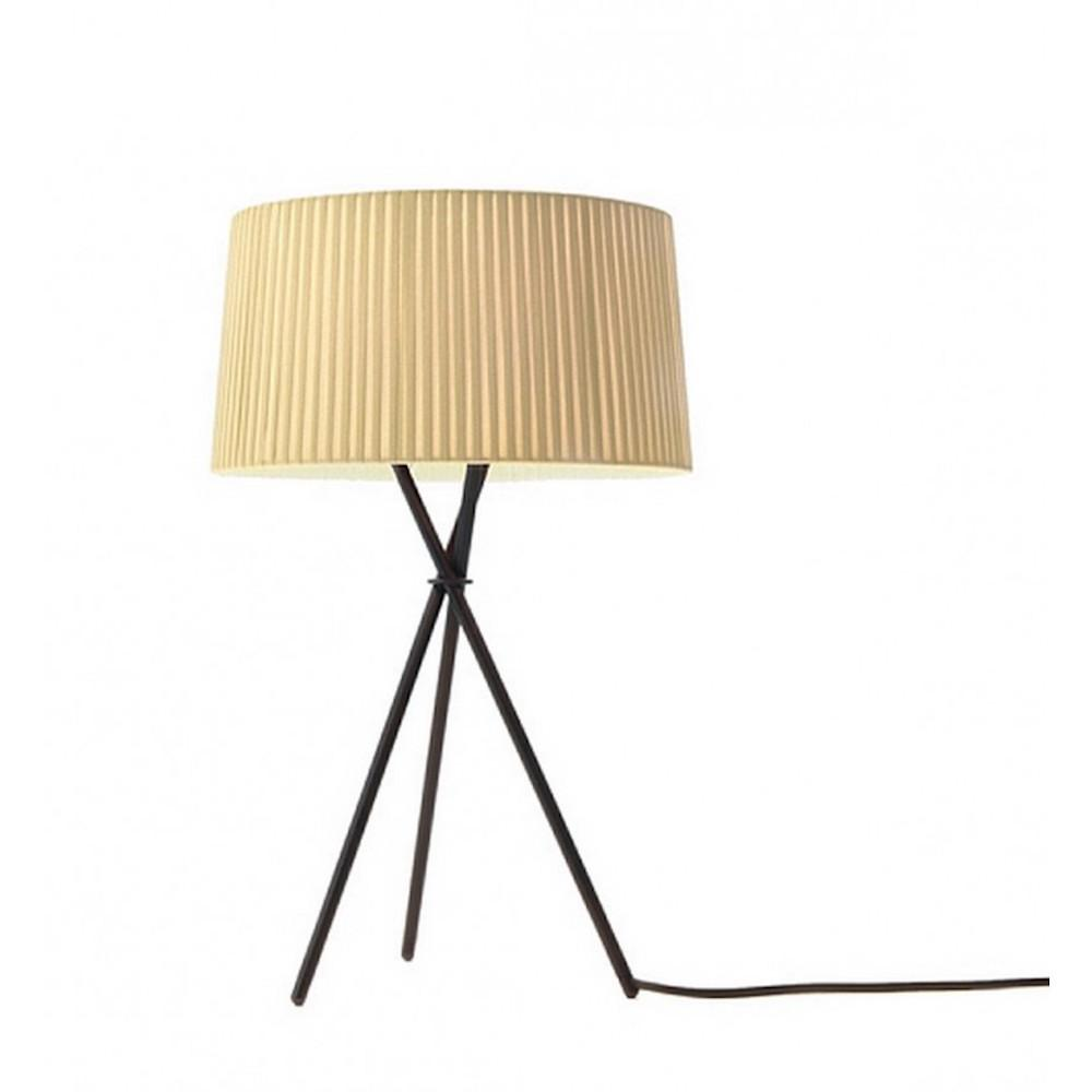 Santa and Cole Tripode M3 Table Lamp with Natural Shade
