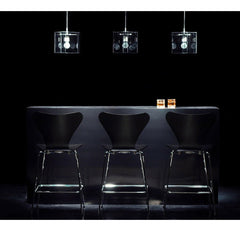 Black Series 7 Barstools in Situ Fritz Hansen