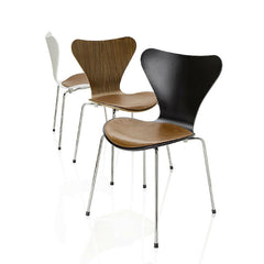 Series 7 Seat Cushions on Series 7 Chairs Arne Jacobsen Fritz Hansen