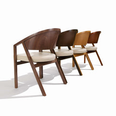 Shelton Mindel Side Chairs Maple and Walnut Knoll