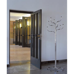 Sidse Werner Coat Tree Chrome in Room Fritz Hansen