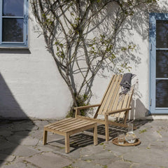 Skagerak Between Lines Deck Chair and Stool