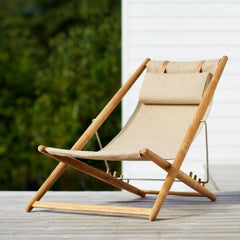 Skargaarden H55 Lounge Chair Outdoors on Deck