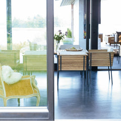 Haringe Armchairs and Dining Table by Skargaarden
