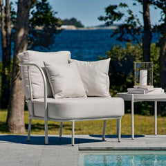 Skargaarden Salto Outdoor Lounge Chair by Pool