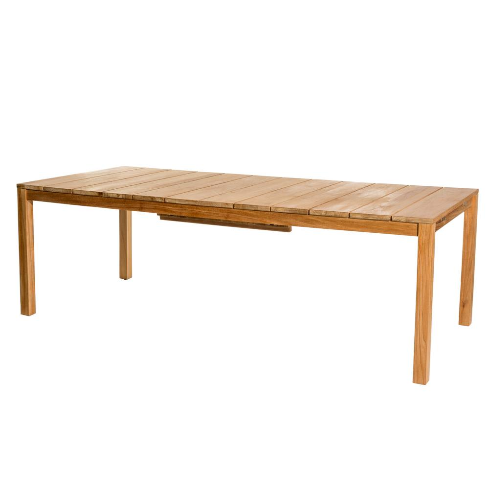 Skargaarden Oxnö Extendable Outdoor Dining Table in Teak