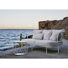 Skargaarden Salto Outdoor Sofa on Rocky Coastline
