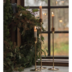 Skultuna Nattlight Brass Candlesticks Styled