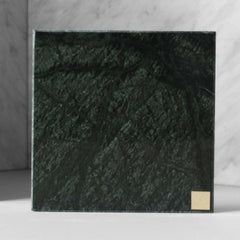 Small Green Marble Plate from Skultuna