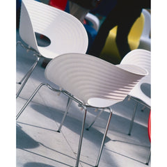 T-Vac Chairs Curve Detail Ron Arad for Vitra