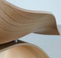 Tadao Ando Dream Chair Oak Sead Detail Carl Hansen and Son