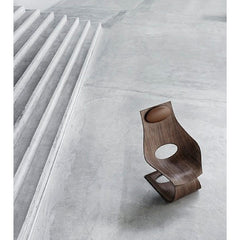 Tadao Ando Dream Chair Walnut in situ Concrete Carl Hansen and Son