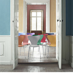 Tal R Series 7 Chairs for Fritz Hansen all Colors in Doorway