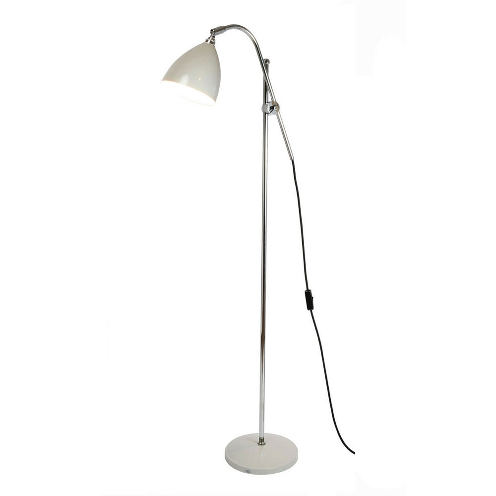 Putty Grey Task Floor Lamp by Original BTC