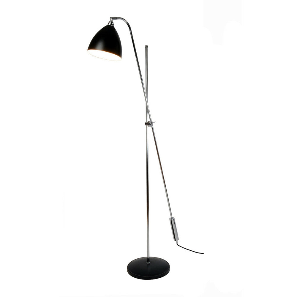 Task Overreach Floor Lamp in Black by Original BTC