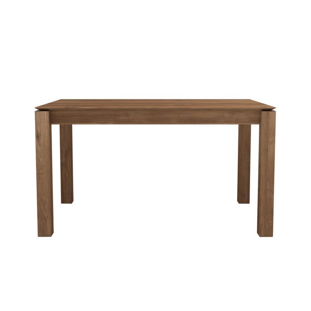 Teak Slice Extendable Dining Table Ethnicraft Palette