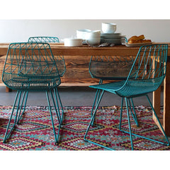 Teal Bend Lucy Chairs at Breakfast Table