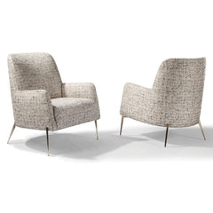 Thayer Coggin Mia Chair 1366 Front and Back