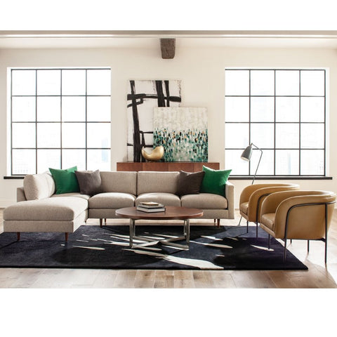 Thayer Coggin Milo Baughman Design Classic Sectional Sofa