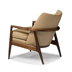 Thayer Coggin Milo Baughman Draper Chair 1230-103 Back
